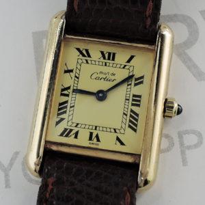Cartier マストタンク クオーツ レディース 腕時計 【委託時計】