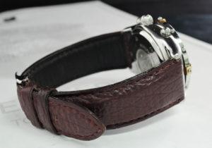 BREITLING クロノコックピット B30011 自動巻 メンズ 腕時計 保証書 白文字盤 【委託時計】
