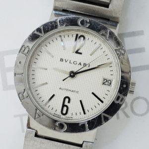 BVLGARI ブルガリブルガリ BB38SS 自動巻 メンズ 腕時計 シルバー文字盤 【委託時計】