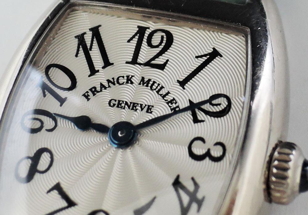 FRANCK MULLER トノウ・カーベックス レディース インターミディエ 2251QZ 18KWG 腕時計 【委託時計】