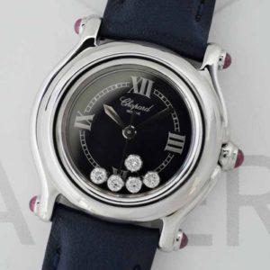 CHOPARD ハッピースポーツ 27/8245-21 ムービングダイヤ 5P レディース 腕時計 クオーツ 【委託時計】
