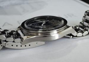 OMEGA スピードマスター 3510.82 クロノグラフ SS 青文字盤 自動巻 Cal.3220 日本限定 1000本 【委託時計】