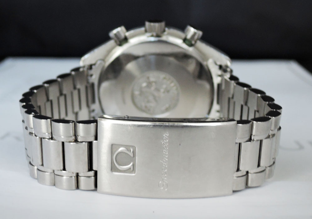 OMEGA スピードマスター 3510.50 クロノグラフ SS 黒文字盤 自動巻 メンズ 腕時計 ステンレス 【委託時計】