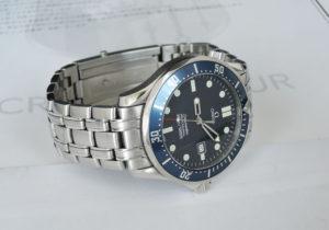 OMEGA シーマスター プロフェッショナル300m 2541.80 メンズ 腕時計 青文字盤 クォーツ 保証書 箱