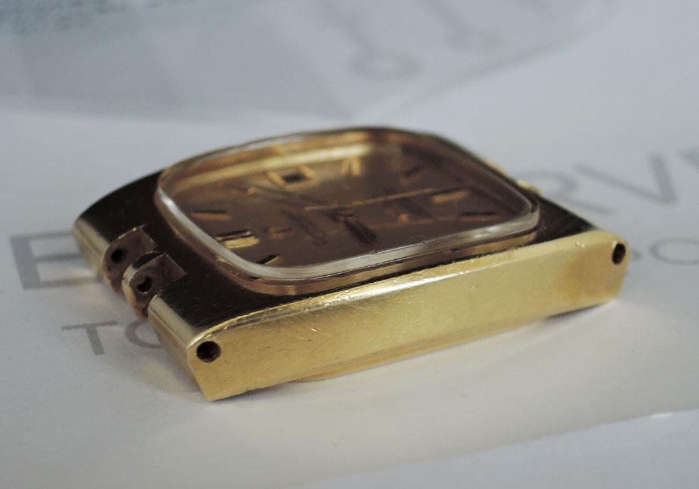OMEGA コンステレーション メッキ GP ヴィンテージ メンズ 腕時計 自動巻 ヘッドのみ 【委託時計】
