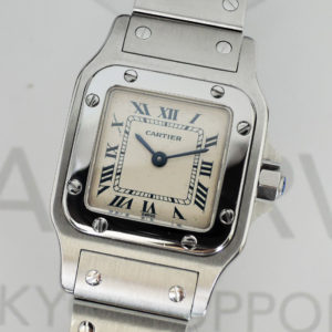 Cartier サントスガルベ SM 1565 レディース 腕時計 ステンレス クオーツ 【委託時計】