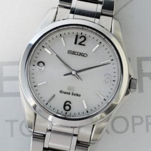 GRAND SEIKO 8j55-0010 メンズ 腕時計 クオーツ 白文字盤 ステンレス 【委託時計】