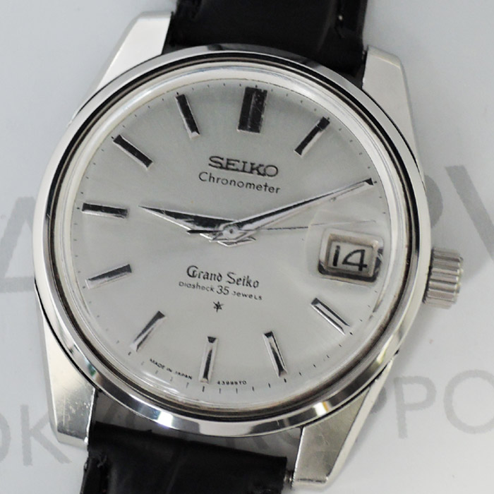 0a28eb342d ... GRAND SEIKO 5722-9990 2ndモデル 後期型 ライオンメダリオン 手巻 シルバー文字盤 ...
