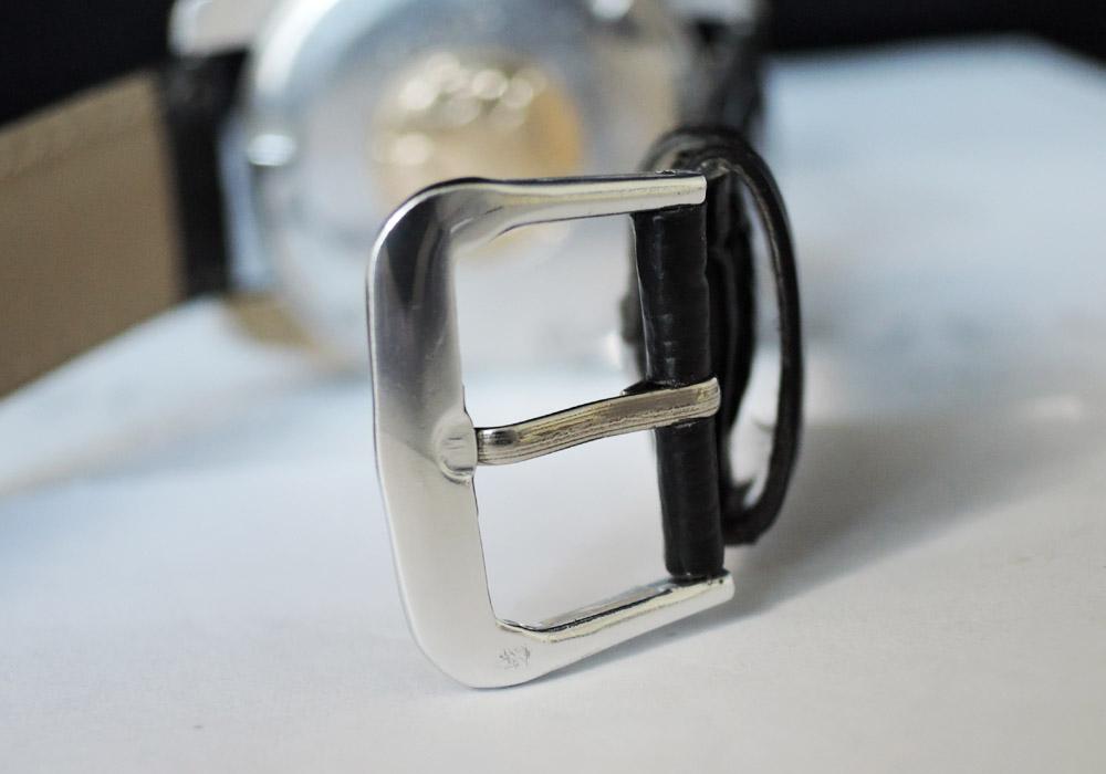 GRAND SEIKO 5722-9990 2ndモデル 後期型 ライオンメダリオン 手巻 シルバー文字盤 ステンレス 【委託時計】