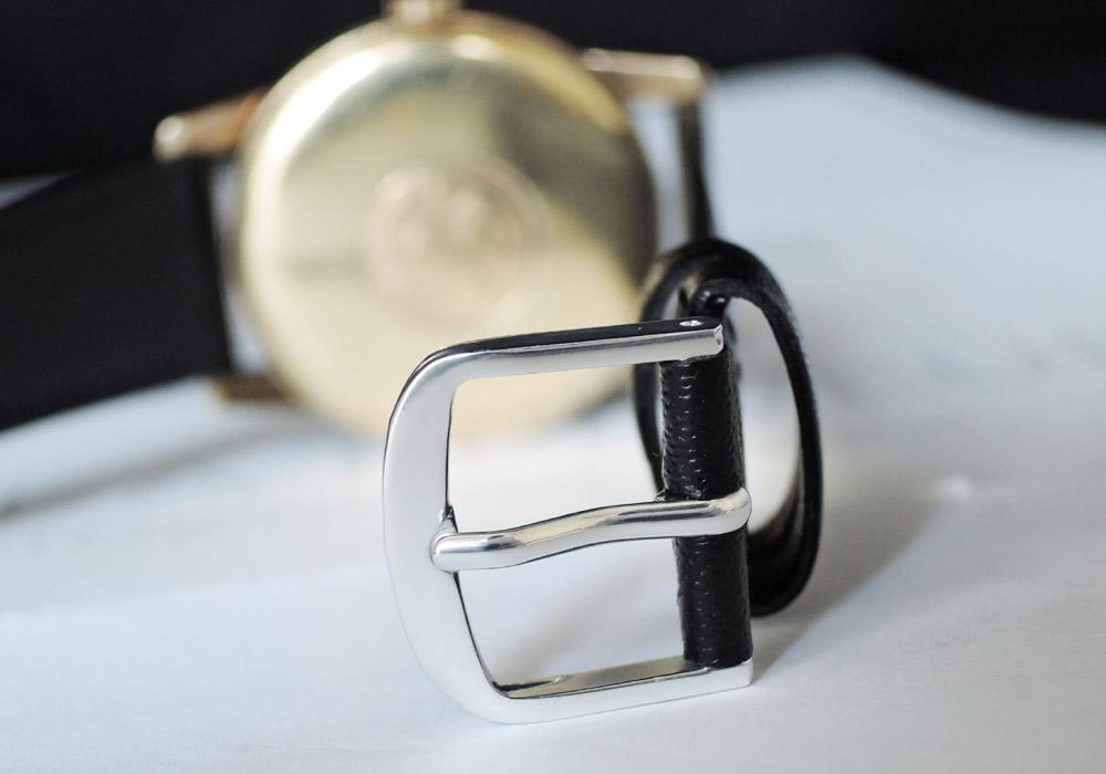 GRAND SEIKO ファーストモデル Ref.J14070E 彫り文字盤 Cal.3180 金メッキ メンズ 腕時計 手巻 アンティーク 白文字盤 ステンレス 【委託時計】