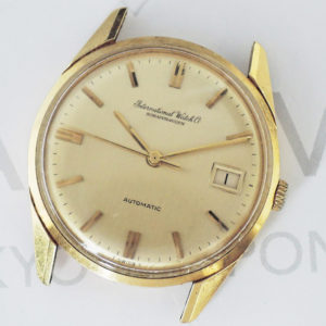 インターナショナル シャフハウゼン R810A 18KYG 腕時計 ヘッドのみ ローター不良 39g 【委託時計】