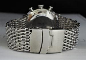 JUNGHANS マックスビル クロノスコープ 027/4501.01 クロノグラフ メンズ 腕時計 自動巻 保証書 【委託時計】