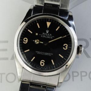 ロレックス ROLEX オイスターパーペチュアル Ref.1018 自動巻 15~ メンズ 腕時計 7206リベットブレス 竜頭不良 IW7405