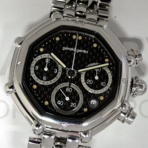 ジェラルドジェンタ GeraldGenta サクセス クロノグラフ G.3388.7 自動巻 メンズ SS 腕時計 IW7413