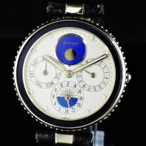 ジェラルドジェンタ GeraldGenta GEFICA ジェフィカ クオーツ ムーンフェイズ g.2940.7 18KYG メンズ 腕時計 IW7414