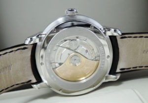 AUDEMARS PIGUET ミレネリー オートマティック 15320BC.OO.D002CR.01 18Kホワイトゴールド 自動巻 黒文字盤 箱 説明書 【委託時計】