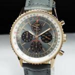 ブライトリング BREITLING ナビタイマー ストラトス R33350 メンズ K18ローズゴールド 腕時計 保証書 箱 限定書 純正ベルト【限定50本】  【委託時計】