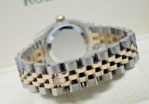 ROLEX デイトジャスト 179171G ランダム 18KPGxSS ダイヤ コンビ レディース 自動巻 シルバー文字盤【委託時計】