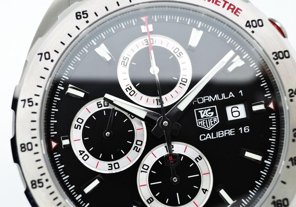 タグホイヤーTAGHEUER フォーミュラ1 CAZ2010.BA0876 キャリバー16 クロノグラフ 黒文字盤 保証書 箱 CF7543