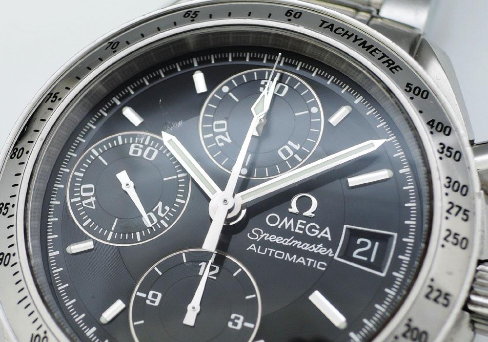 オメガOMEGA スピードマスター デイト 3513.50 クロノグラフ 自動巻 黒文字盤 CF7544