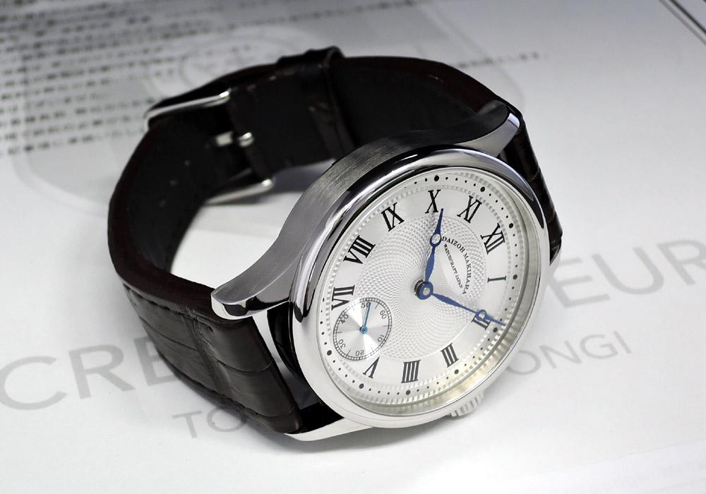 牧原 大造 DAIZOH MAKIHARA WATCHCRAFT JAPAN dL003 時計製作師 手巻 ステンレス 42mm 20本限定 IT7546