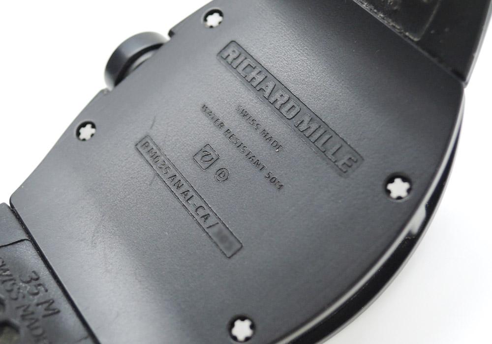 リシャールミル RICHARD MILLE RM035 ラファエル・ナダル クロノフィアブル 手巻 アルミニウム2000/マグネシウムWE54 箱 保証書 説明書 IT7547