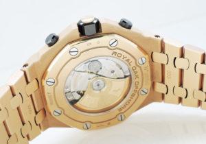 オーデマピゲAUDEMARS PIGUET ロイヤルオーク オフショア クロノグラフ 26470OR.OO.1000OR.01 自動巻 100m防水 18Kピンクゴールド メンズ 腕時計 箱 国際保証書 説明書 修理証明書 駒 IT7548