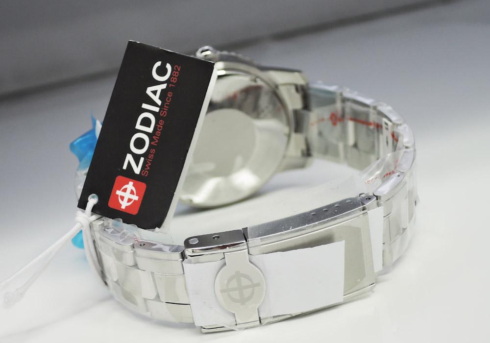 ゾディアック ZODIAC エアロスペースGMT ZO9400 世界限定182本 自動巻 SS 箱 保証書 未使用 IT7549