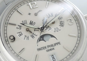 パテックフィリップ PATEKPHILIPPE アニュアルカレンダー 5146/1G-001 ムーンフェイズ WG 自動巻 保証書 駒 IT7560