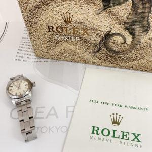 ロレックス ROLEX オイスターパーペチュアル レディース 6718 自動巻 53~ ステンレス 箱 保証書  IT7573