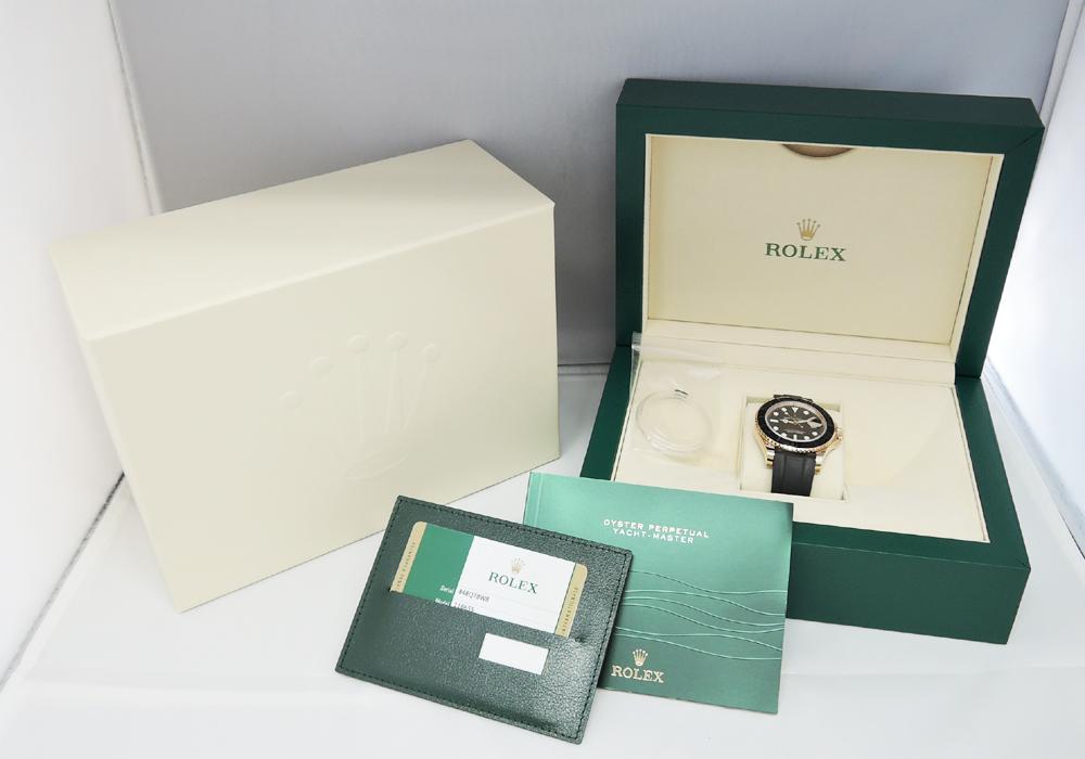 ロレックス ROLEX ヨットマスター 116655 ランダム品番 K18PG 自動巻 保証書 IT7577