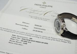 パテックフィリップ PATEKPHILIPPE ワールドタイム クロノグラフ コンプリケーション 5930G-001 自動巻 18KWG 保証書 IT7582