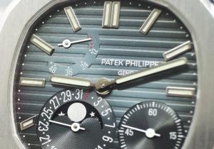 パテックフィリップ PATEKPHILIPPE ノーチラス 5712/1A-001 ステンレス 自動巻 パワーリザーブ デイト ムーンフェイズ メンズ 腕時計 IT7584