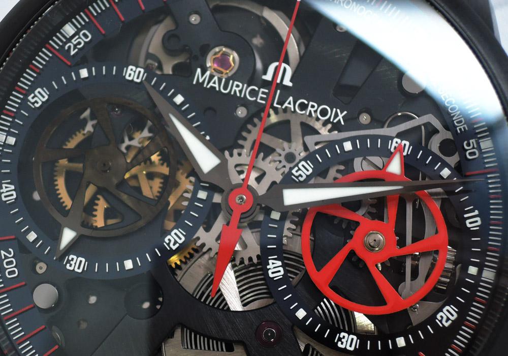 MAURICE LACROIX モーリスラクロア MP7128 マスターピース クロノグラフ スケルトン188本限定 手巻 IT7615