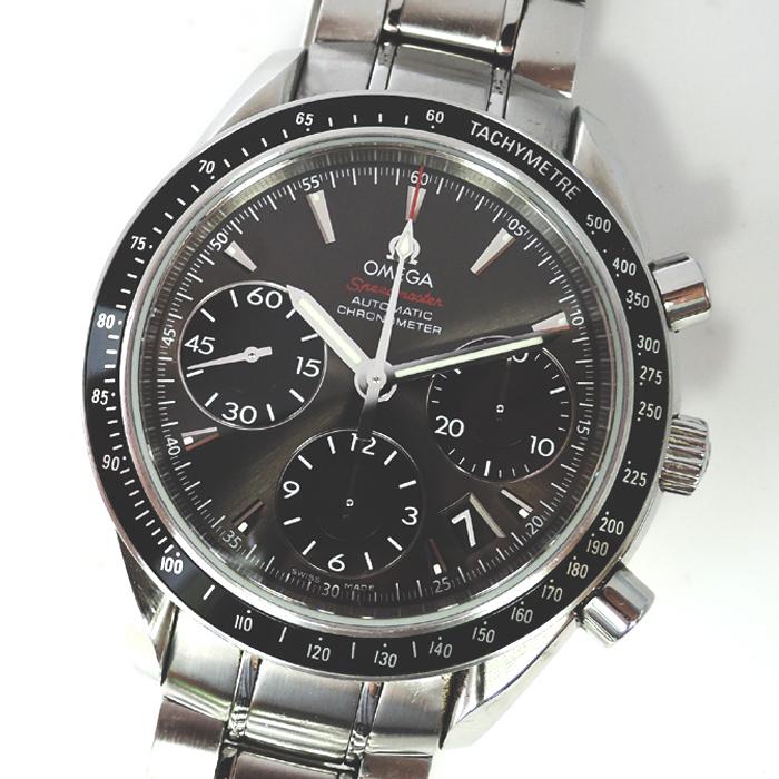 オメガ OMEGA スピードマスター デイト 323.30.40.40.06.001 メンズ 腕時計 自動巻 40mm クロノグラフ ステンレススチール CF7620