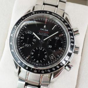 オメガ OMEGA スピードマスター デイト 323.30.40.40.06.001 メンズ 腕時計 自動巻 40mm クロノグラフ ステンレススチール CF7622