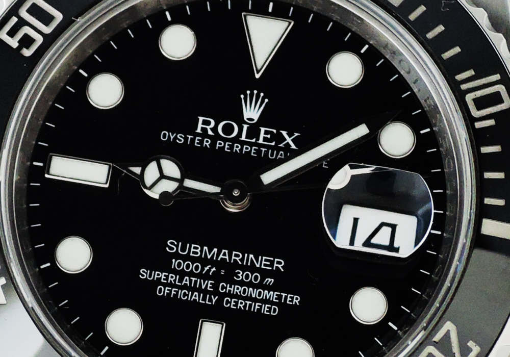 ロレックス ROLEX サブマリーナ デイト 116610LN 自動巻 G番 保証書 CF7643
