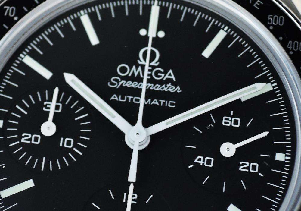 オメガ OMEGA スピードマスター 3539.50 オートマチック 39.0mm クロノグラフ 自動巻 黒文字盤 ステンレス タキメーターベゼル CF7644