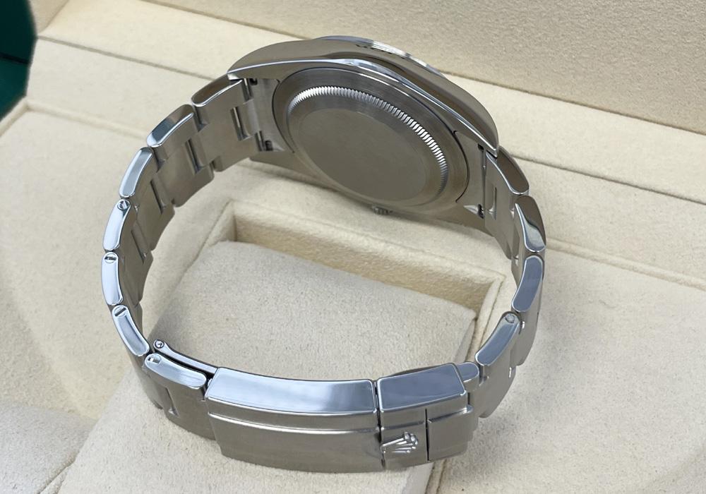 ロレックス ROLEX エクスプローラーⅠ explorer 214270 ランダム SS 自動巻 メンズ 未使用 完品 保証書2019年
