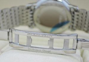 ブランパン BRANCPAIN ヴィルレ ダイヤモンドベゼル ダイヤモンドインデックス 未使用品 SS 白文字盤 箱 保証書 駒5 IT7913