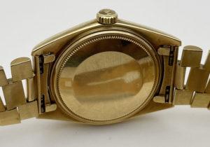 ロレックス ROLEX デイデイト 1803 38番 フランス語表記 金無垢 ヴィンテージ ゴールド文字盤 保証書 希少