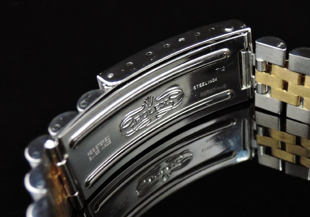 ROLEX デイトジャスト16233 W番 シャンパン YGxSS 研磨済  【委託時計】