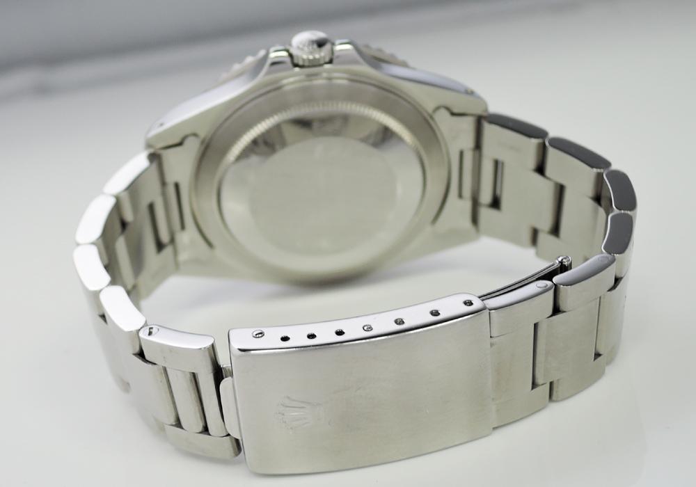 ロレックス ROLEX GMTマスター 16700 メンズ 美品 ペプシカラー X番 自動巻 オイスターブレス CA9827