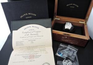 FRANCK MULLER フランクミュラー トノーカーベックス ゴシックアロンジェ 8880SCDT GOTH REL AC White 自動巻 SS×ラバー メンズ 保証書 箱 純正尾錠 腕時計