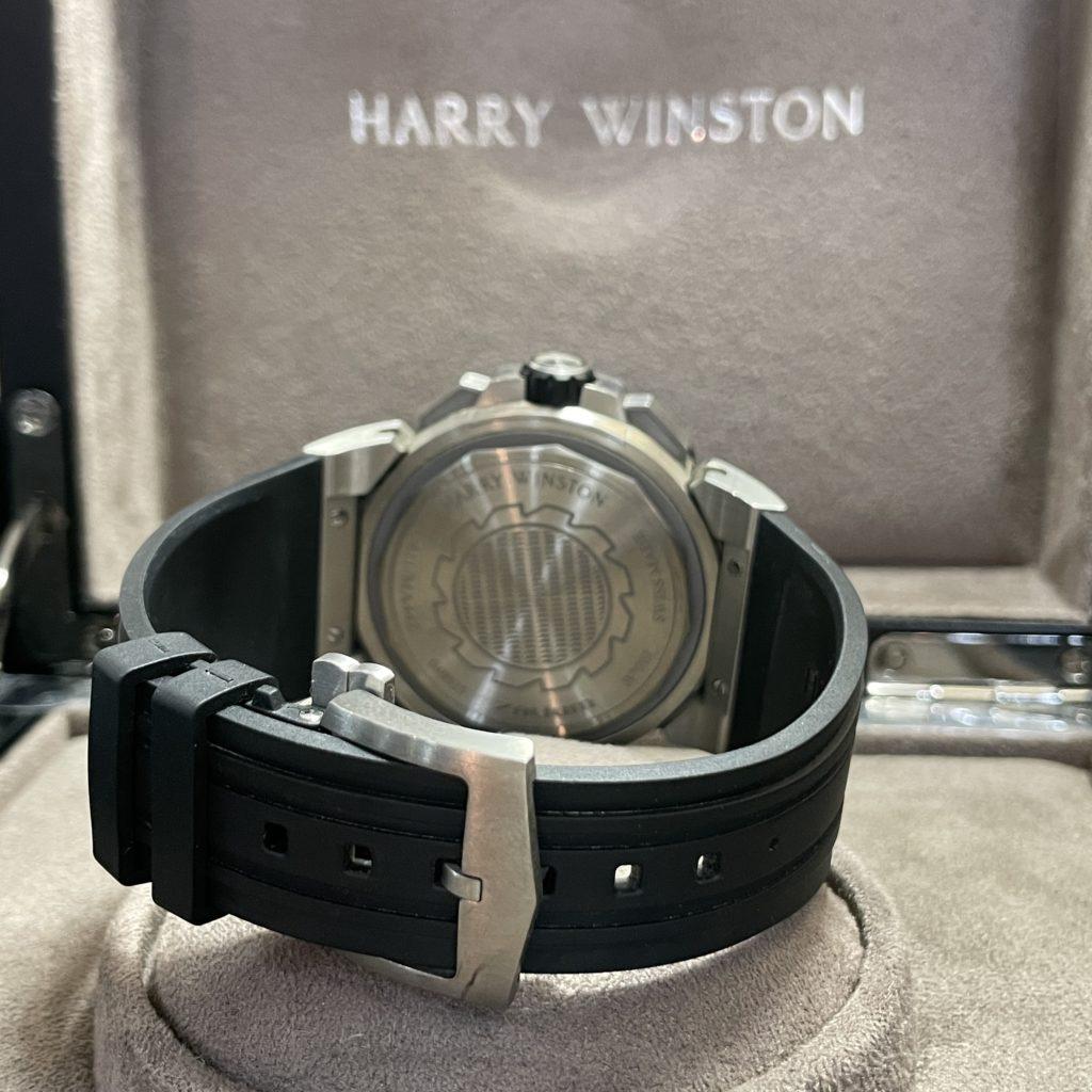 ハリーウィンストン Harry Winston オーシャンスポーツ ザリウム 411/MA44ZC.W メンズ 自動巻 シルバー文字盤