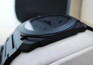 BVLGARI ブルガリ オクト フィニッシモ BGO40BCCXTAUTO 未使用 美品 メンズ 腕時計 箱、Gカード IT7675