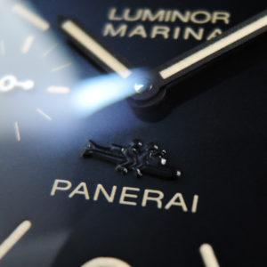 ルミノールマリーナ PAM00415 銀座100本限定 マイアーレ魚雷 【委託中古時計】