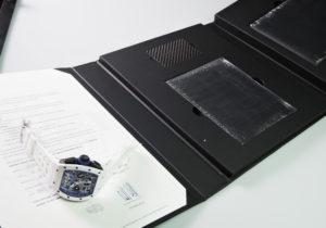 RICHARD MILLE RM11-02 ジャパンブルー ATZホワイトセラミックス カーボンTPT 日本限定30本【委託時計】