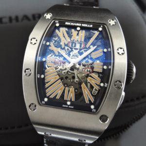 RICHARD MILLE RM037 TI チタン キャリバー「CRMA1」 日本正規 【極上中古時計】
