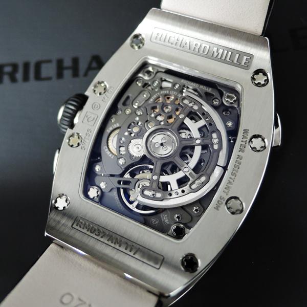RICHARD MILLE RM037 TI チタン キャリバー「CRMA1」 日本正規 【極上中古時計